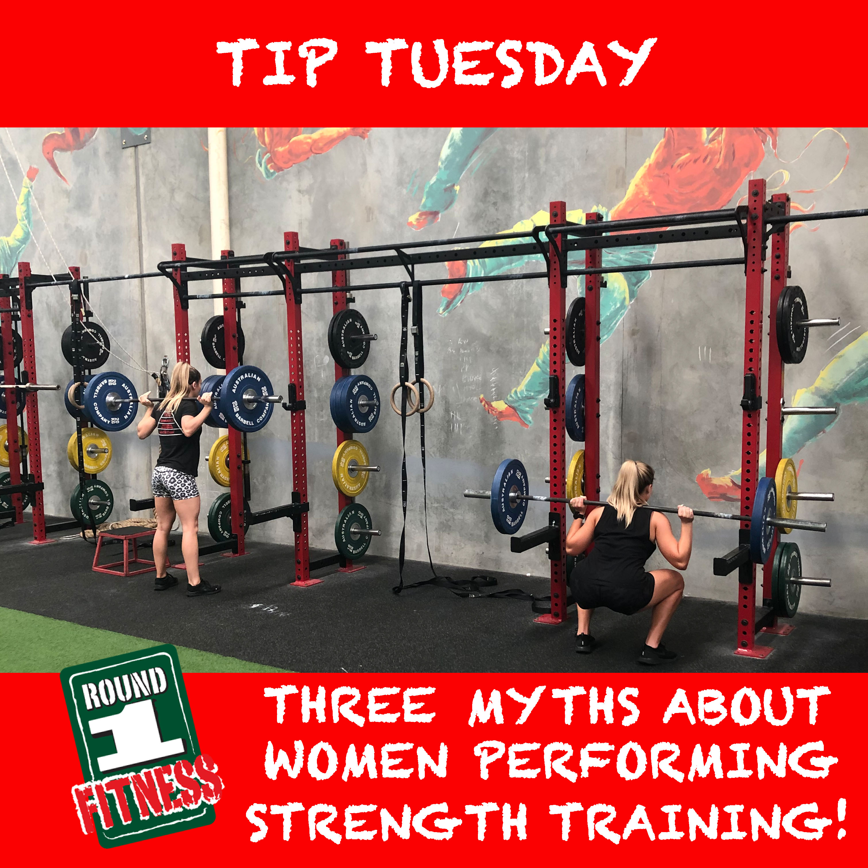 Tip Tuesday – Three Myths about Women Performing Strength Training