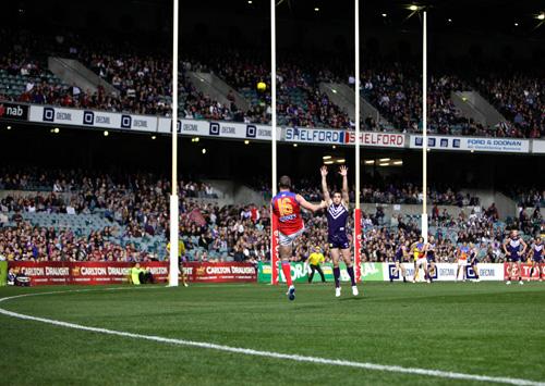 AFL Skills Blog – Kicking for Goal