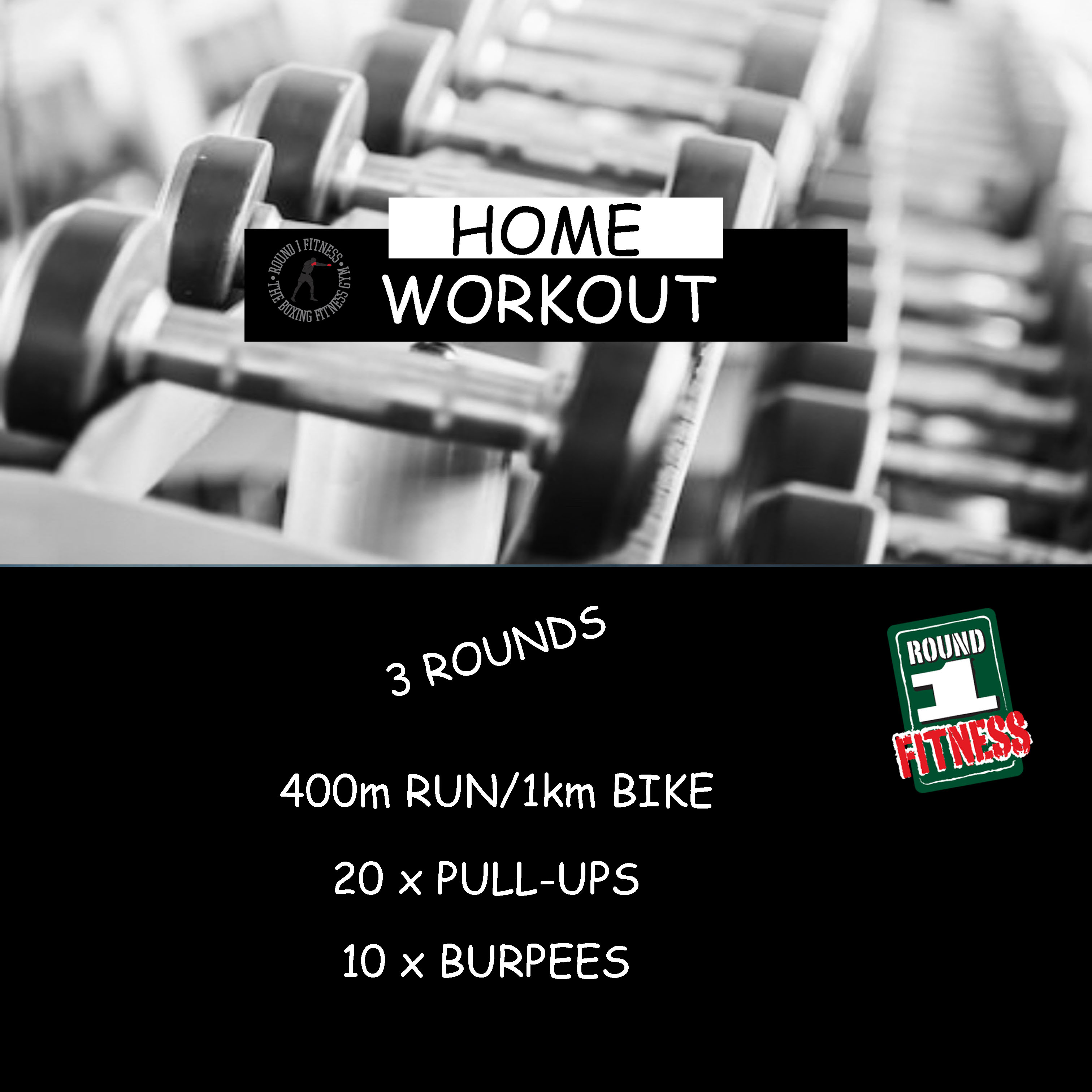 Home Workout:  Thursday, March 26th