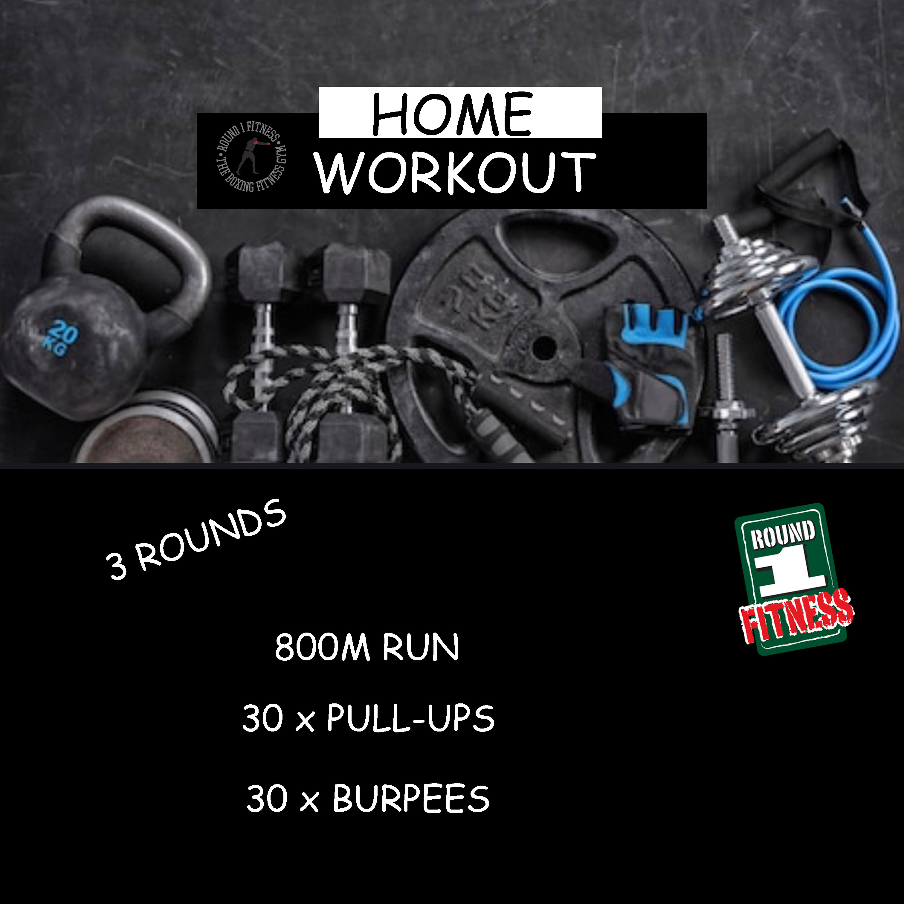 Home Workout:  Tuesday, March 31st