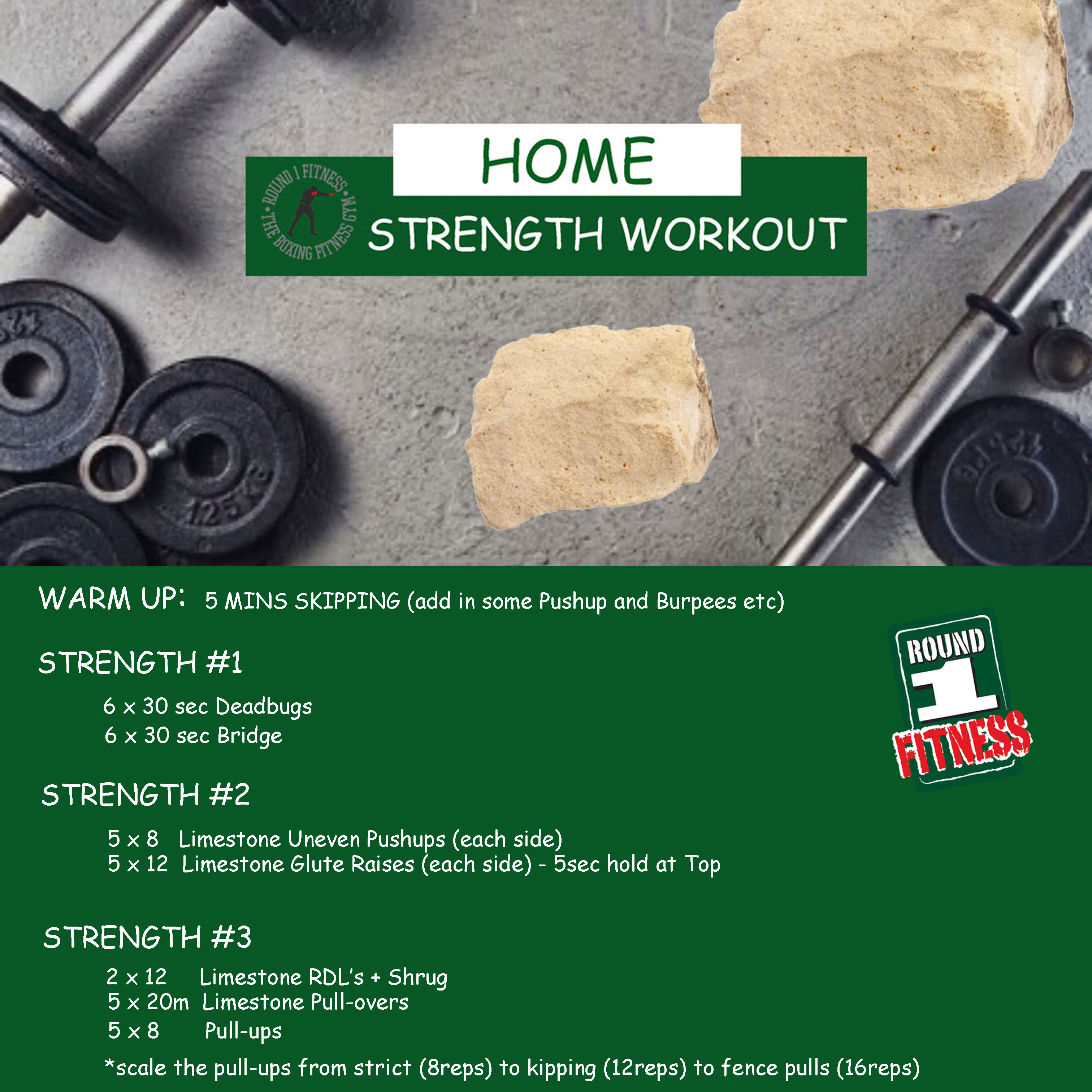 At Home Strength – Week 1, Day 3