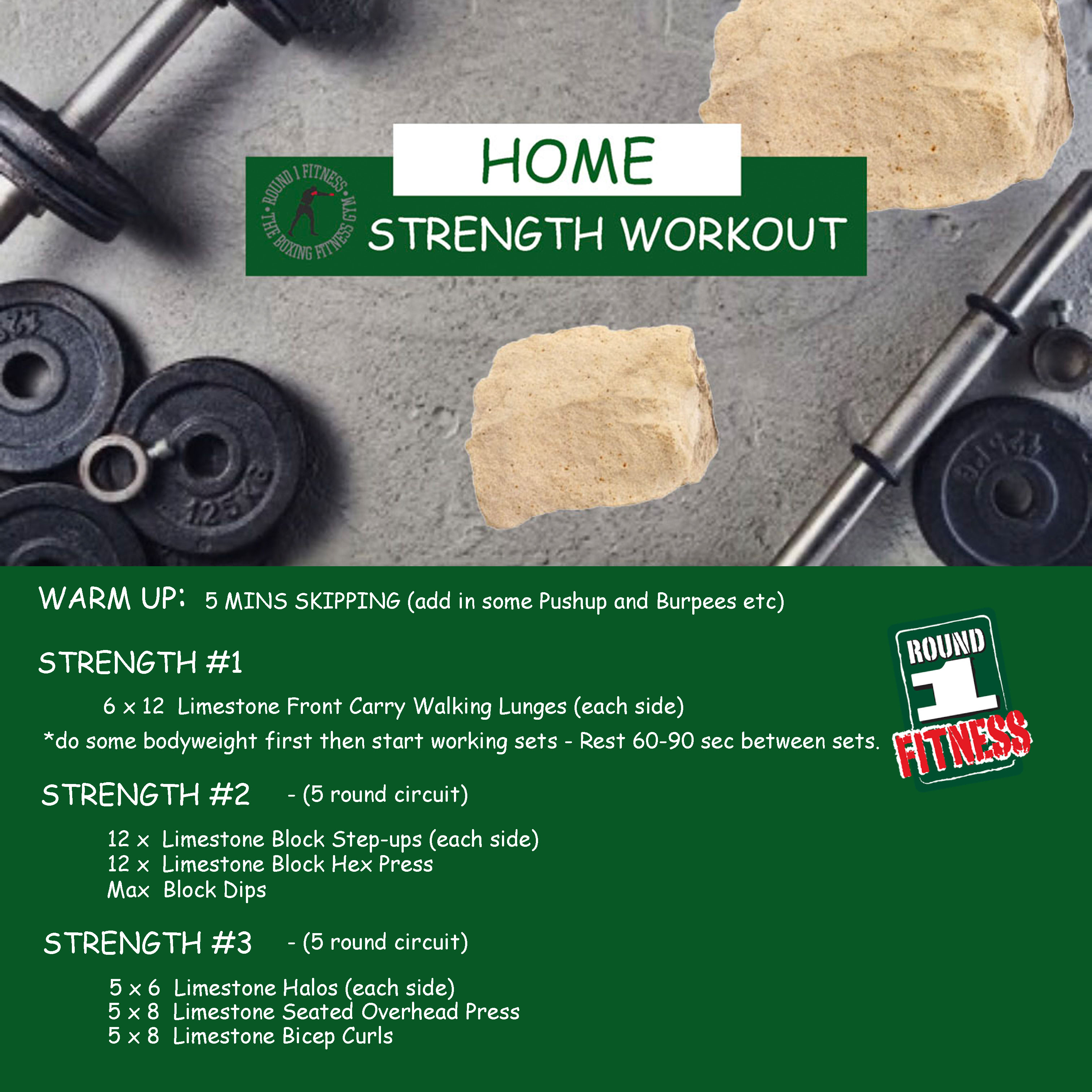 At Home Strength – Week 1, Day 4