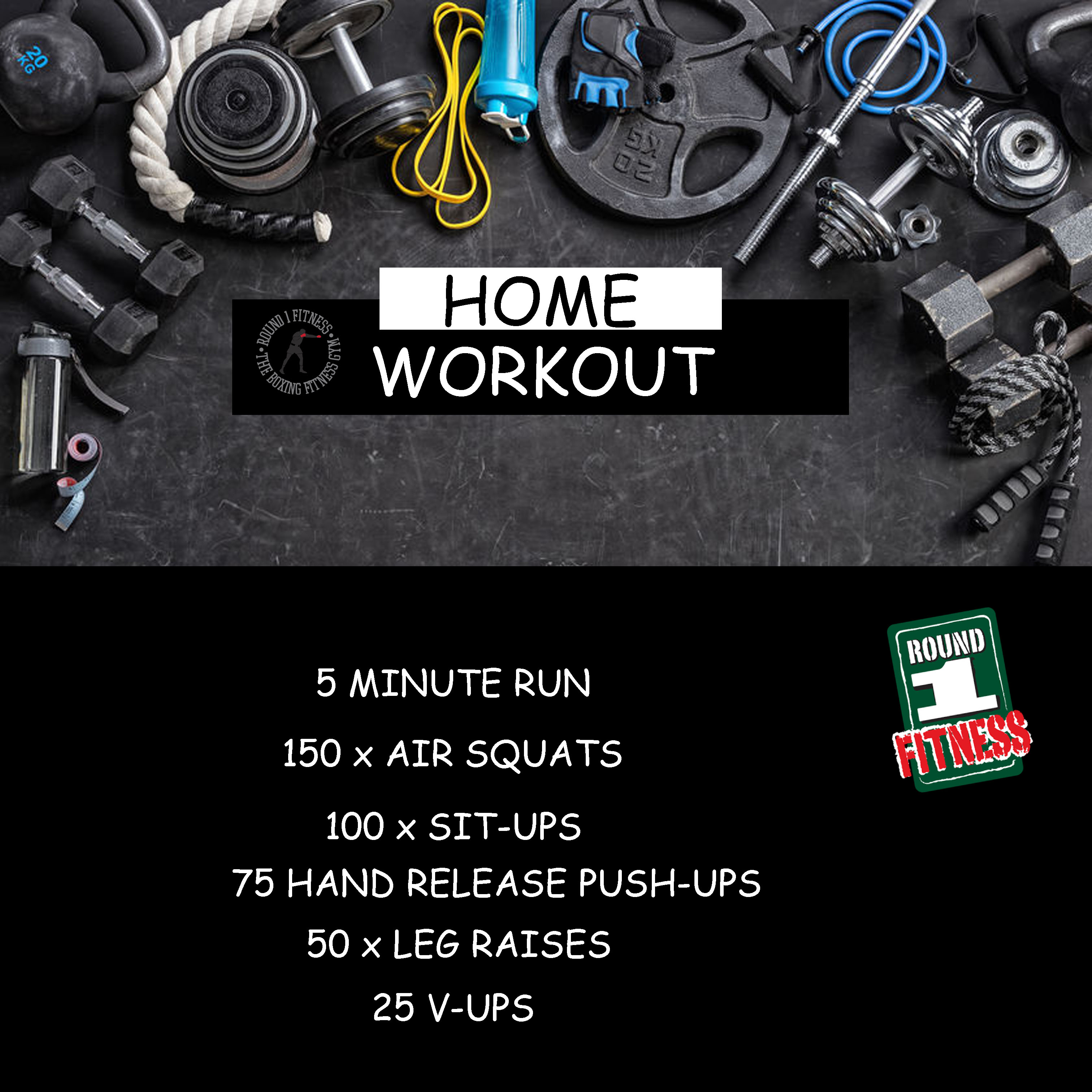 Home Workout:  Wednesday, April 29th