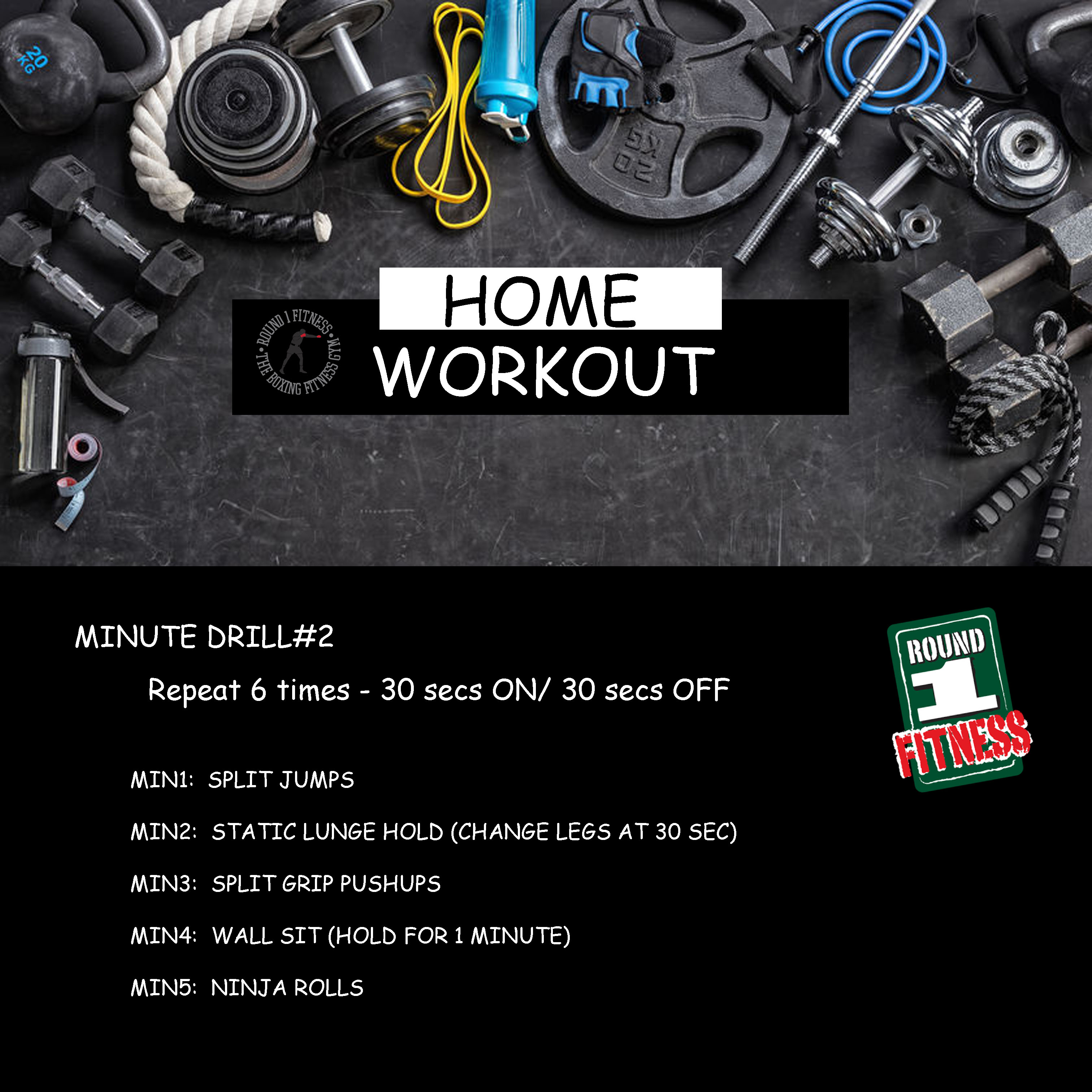 Home Workout:  Thursday May 14th