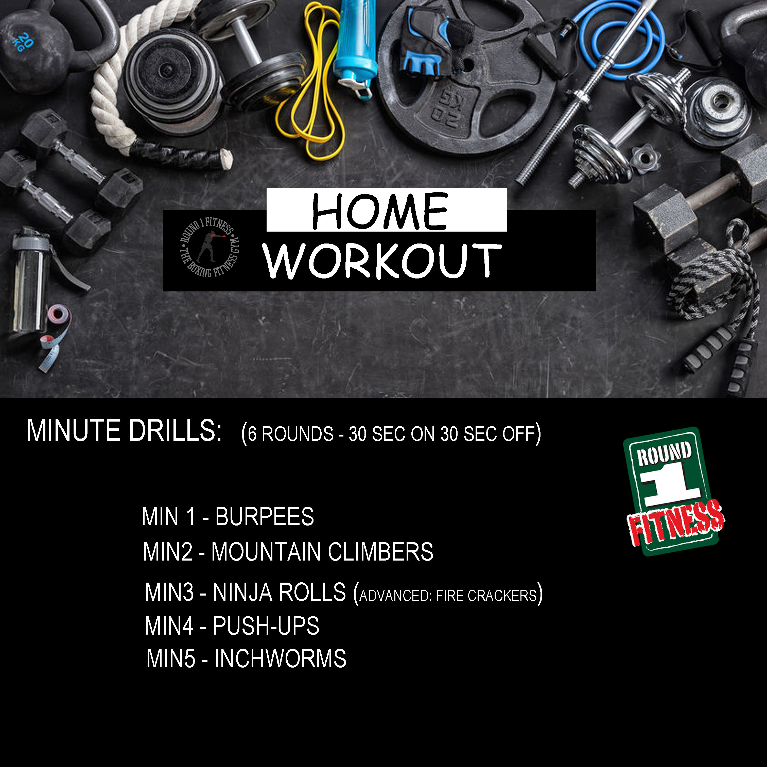 COVID Lockdown#3 – Round 1 @ Home – Workout 7, April 30th 2021