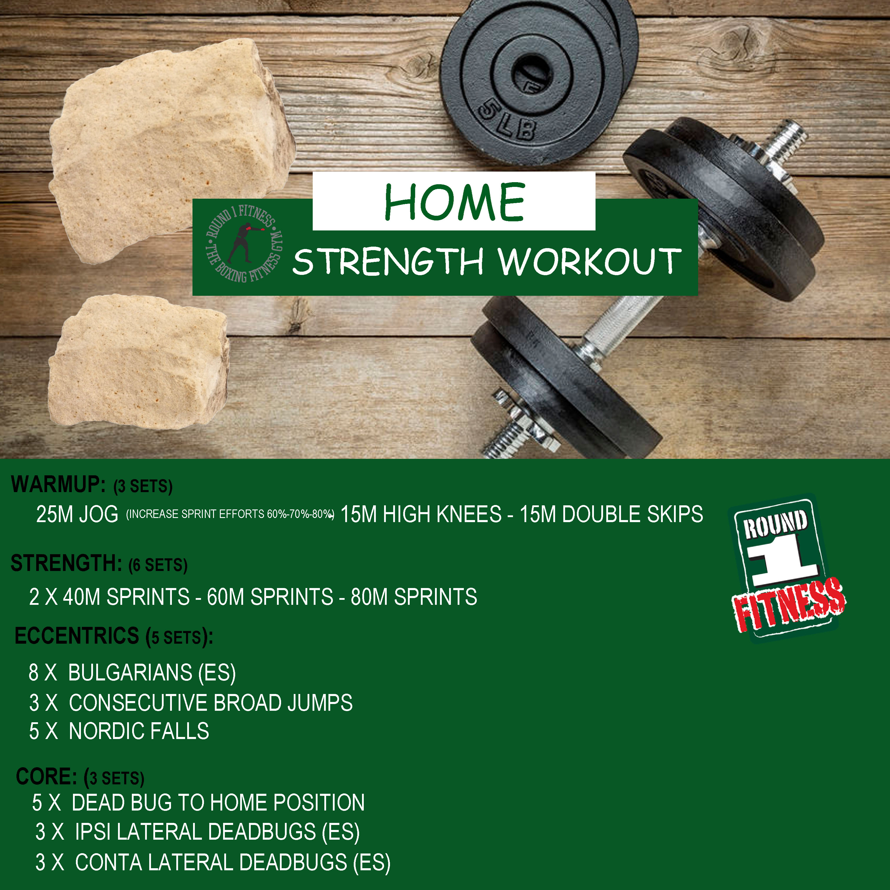 COVID Lockdown#3 – Round 1 @ Home Strength – Workout 3, April 27th 2021