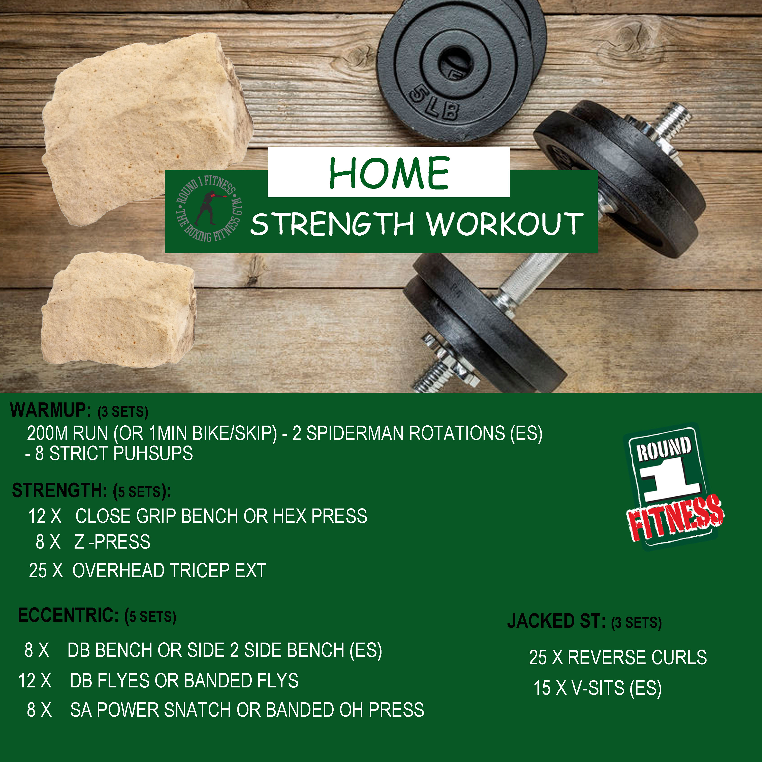 COVID Lockdown#3 – Round 1 @ Home Strength – Workout 6, April 30th 2021