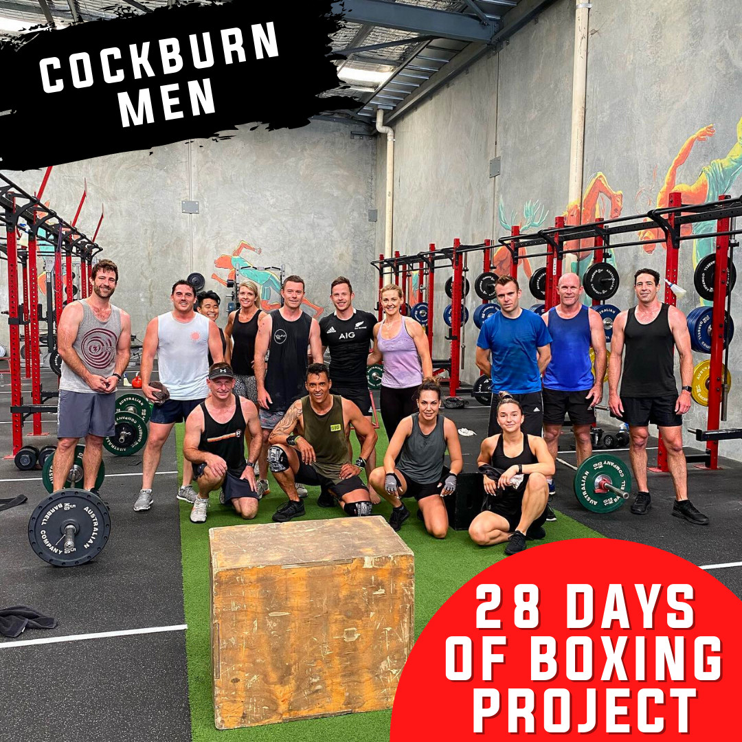 28-Days-Of-Boxing-Project (for the BOYS!)